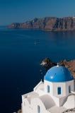Igreja grega Foto de Stock