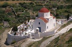 Igreja grega Imagens de Stock Royalty Free