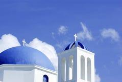 Igreja grega Fotografia de Stock Royalty Free