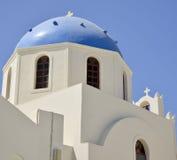 Igreja grega ortodoxo Fotografia de Stock Royalty Free
