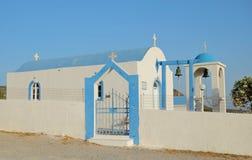 Igreja grega pequena ortodoxo Imagem de Stock