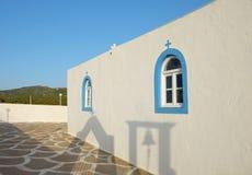 Igreja grega pequena ortodoxo Foto de Stock Royalty Free
