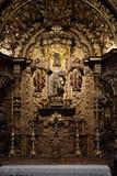 Igreja hace la iglesia de Carmen en la ciudad vieja de Faro, Algarve, Portugal imagen de archivo