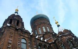 Igreja harbin do St Sophia Imagens de Stock Royalty Free