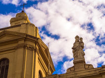 Igreja histórica Fotografia de Stock Royalty Free