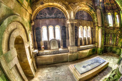 Igreja histórica Argyll fotos de stock royalty free