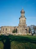 Igreja histórica em Shrewsbury, Inglaterra Foto de Stock Royalty Free