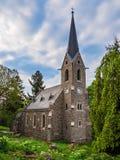 Igreja histórica na vila Schierke, Alemanha Fotos de Stock Royalty Free