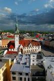 Igreja histórica no quadrado Fotografia de Stock