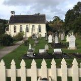 Igreja histórica, Russell, Nova Zelândia Fotografia de Stock