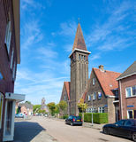 Igreja holandesa pequena Fotografia de Stock