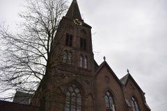 Igreja holandesa velha fotos de stock