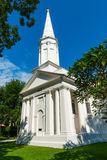 Igreja hristian branca Fotografia de Stock Royalty Free