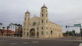 igreja imaculada do coração de 4K UltraHD em Phoenix, o Arizona filme