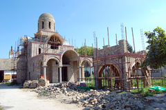 Igreja inacabado Foto de Stock Royalty Free