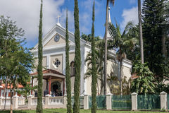 Igreja Indaiatuba Sao Paulo foto de stock royalty free