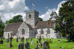 Igreja inglesa da vila Fotos de Stock Royalty Free