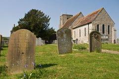 Igreja inglesa em um dia de mola imagens de stock