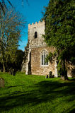 Igreja inglesa tradicional no outono Fotografia de Stock