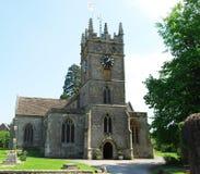 Igreja inglesa velha Imagem de Stock Royalty Free