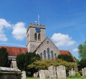 Igreja inglesa velha Fotos de Stock