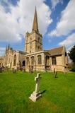 Igreja inglesa velha fotos de stock royalty free