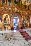 Igreja interior da ressurreição na ressurreição santamente segunda-feira Imagem de Stock Royalty Free