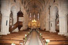 Igreja interna fotos de stock royalty free