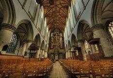 Igreja interna Foto de Stock Royalty Free
