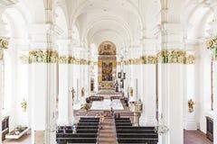 Igreja Jesuitical em Heidelberg Fotografia de Stock Royalty Free
