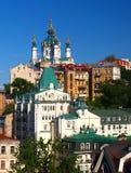 Igreja Kiev do ` s de St Andrew, Ucrânia Imagem de Stock