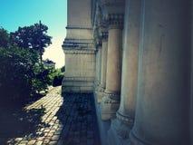 Igreja lateral da basílica do ` Lyon de Notre Dame du Fourviere do ` imagens de stock