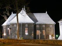 Igreja Lituânia de Seda imagem de stock