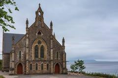 Igreja livre de Gairloch de Escócia, Higlands ocidental Escócia Fotos de Stock
