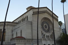 Igreja Los Angeles dos oásis Fotografia de Stock