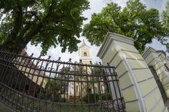 Igreja luterana fotos de stock