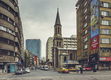 Igreja luterana, Bucareste, Romênia Foto de Stock