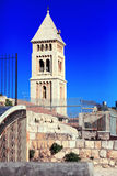 Igreja luterana do redentor (1893-1898), Jerusalém Imagem de Stock