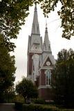 Igreja luterana evangélica de Joensuu Imagem de Stock Royalty Free