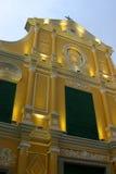 Igreja - Macau Foto de Stock Royalty Free