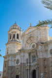 Igreja maciça na Espanha de Cadiz Imagens de Stock