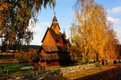A igreja a maior da pauta musical em Noruega desde 1200 y Fotos de Stock