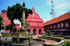 Igreja Malacca de Christ Fotografia de Stock Royalty Free