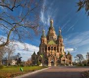 Igreja maravilhosa em Rússia Imagens de Stock Royalty Free