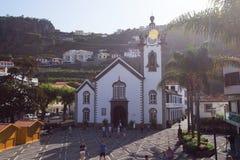 Igreja Matriz da Ribeira Brava, Funchal arkivfoto