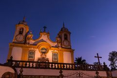 Igreja Matriz de Santo AntÃ'nio Στοκ Φωτογραφία