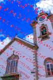 Igreja Matriz de Sao Bento Church. The Igreja Matriz de Sao Bento church in Ribeira Brava, Madeira, Portugal Royalty Free Stock Photo
