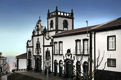 Igreja Matriz de Sao Miguel Royalty Free Stock Photo
