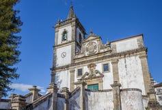 Igreja Matriz in historical town Ponte da Barca Stock Photo