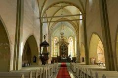 Igreja medieval Foto de Stock Royalty Free